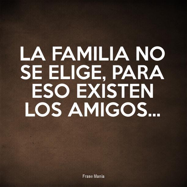 Cartel Para La Familia No Se Elige Para Eso Existen Los