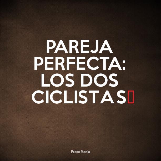 Excepcional Cartel para: Pareja Perfecta: Los Dos Ciclistas♥ QS83