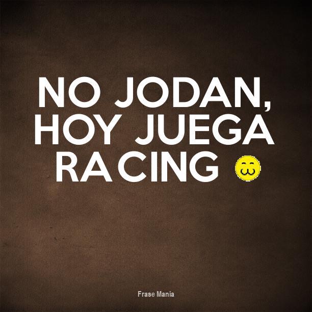 Cartel Para No Jodan Hoy Juega Racing 3