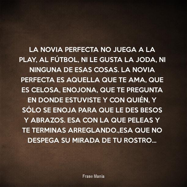 Cartel Para La Novia Perfecta No Juega A La Play Al Fútbol