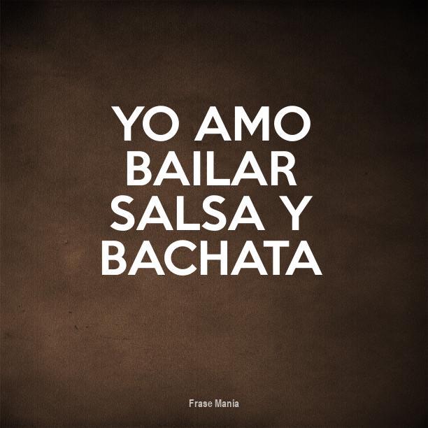 Cartel Para Yo Amo Bailar Salsa Y Bachata