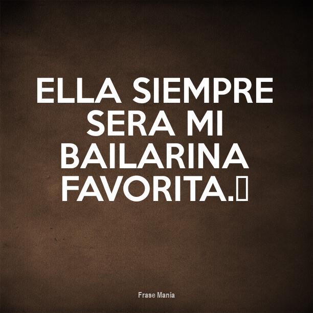 Amado Cartel para: Ella siempre sera mi bailarina favorita.❤ YD26