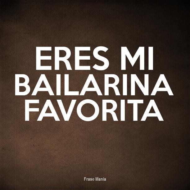 Amado Cartel para: Eres Mi Bailarina Favorita VP94