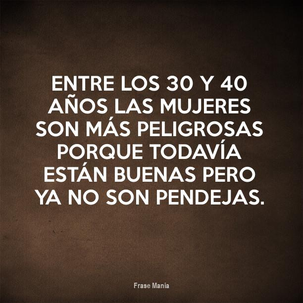 Frases de mujer 40 anos