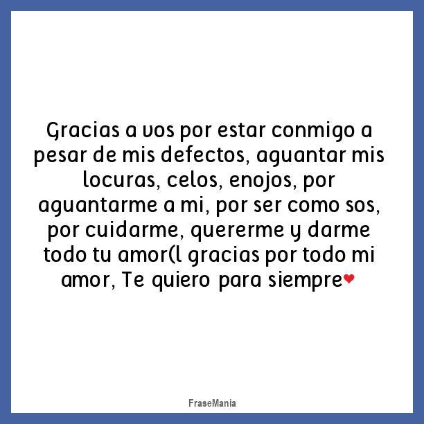 Gracias Mi Amor Por Todo Tu Amor Unpastiche Org